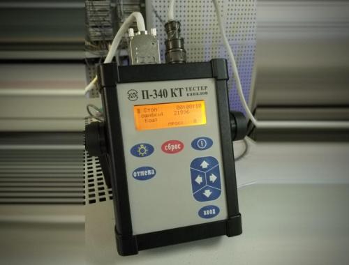Программа управления тестером каналов П-340 КТ
