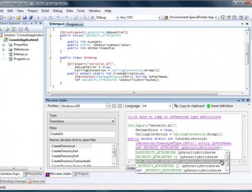 Как быстро импортировать функционал динамической библиотеки в свой проект