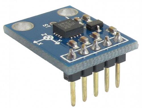 Как подключить акселерометр ADXL335 к Arduino