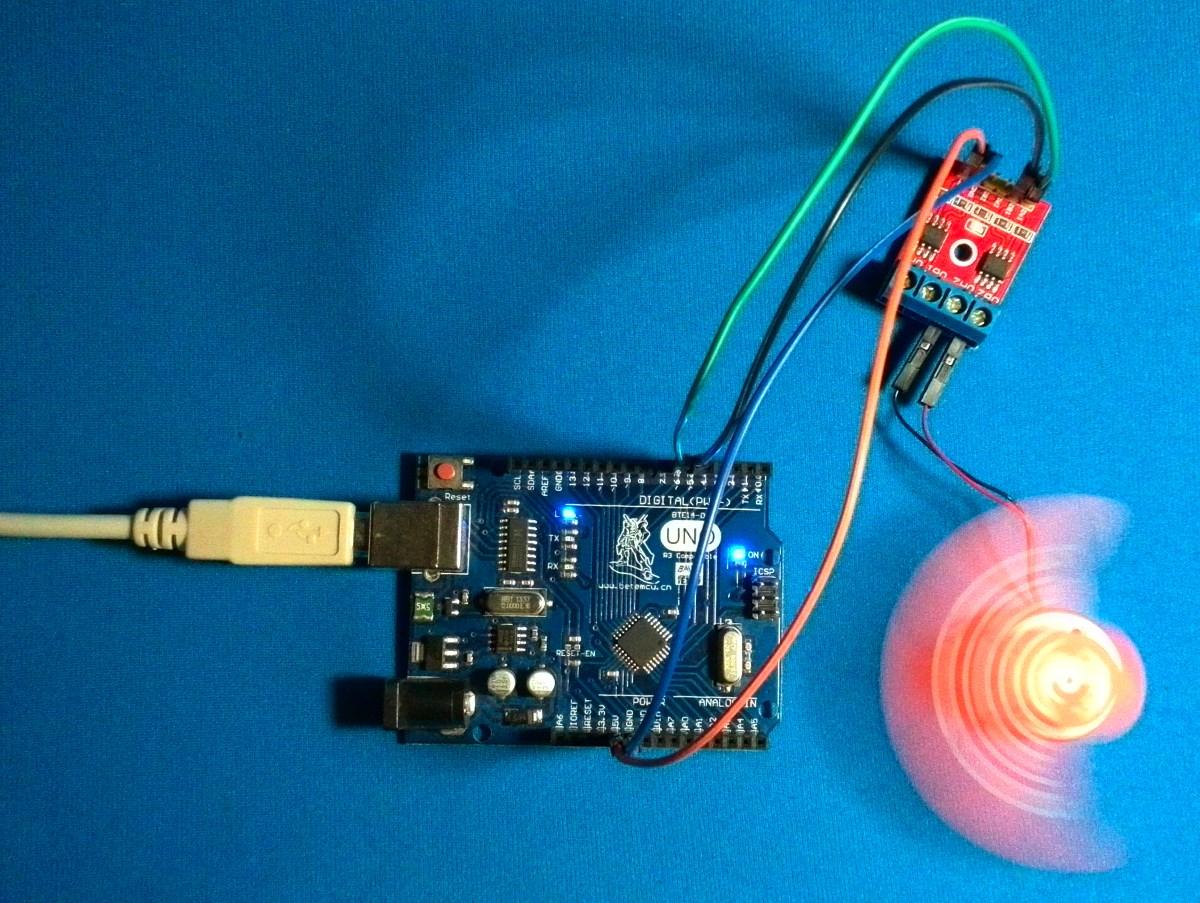 Управление электромотором с помощью драйвера двигателей и Arduino