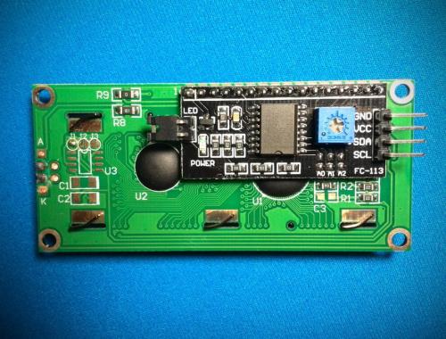 Как подключить LCD дисплей с I2C модулем к Arduino