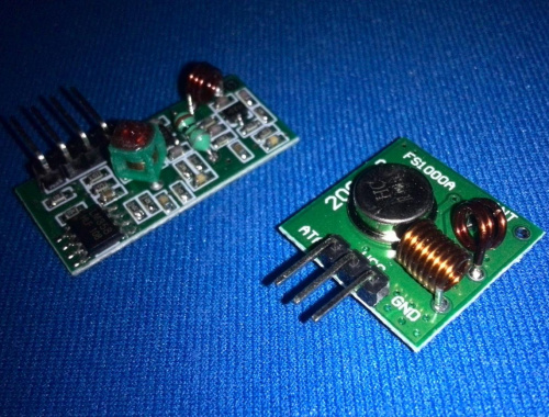 Подключение радиомодуля XY-MK-5V / FS1000A к Arduino