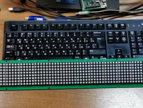 Как подключить LED-панель 95x8 к Arduino