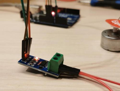 Как подключить датчик тока к Arduino