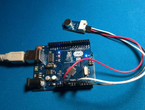 Как подключить датчик звука (микрофон) к Arduino