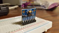 Как подключить цифровой акселерометр ADXL345 к Arduino