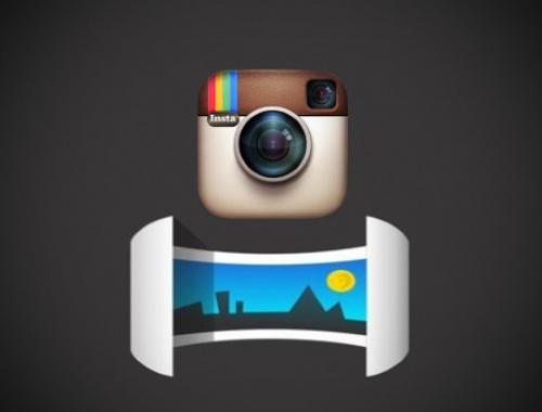 Как загрузить панорамный снимок в Instagram