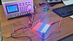 Как подключить панель со светодиодами WS2812 (WS2812B)